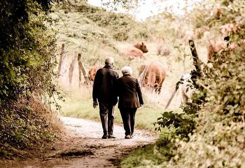 Como saber se encontrei minha alma gêmea - Casal de almas gêmeas se encontrando e caminhando felizes